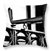 A Handle On The End Throw Pillow