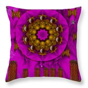 A Heavenly Sunshine Landscape Throw Pillow