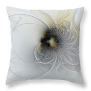 A Hint Of Gold Throw Pillow