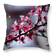 A Hint Of Spring  Throw Pillow