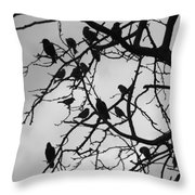 A Hitchcock Moment Throw Pillow