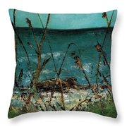 A Hot Wednesday Afternoon Throw Pillow