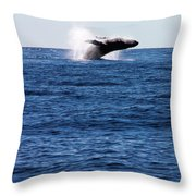 A Huge Splash Throw Pillow