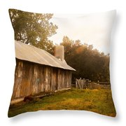 A Hut To Call Home Throw Pillow