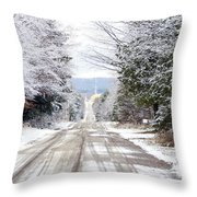 A Journey Begins With One Step Throw Pillow