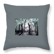 A Kiss For Eternity Throw Pillow