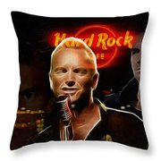 A Life For The Music Throw Pillow