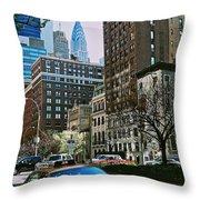 A Little Slice Of New York Throw Pillow