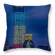 A Look At Freedom Throw Pillow