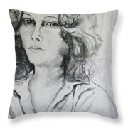 A Look Within Throw Pillow