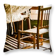 A Loom For Grandma Throw Pillow