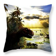 A Lost World Throw Pillow