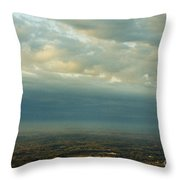 A Majestic Birds Eye View Throw Pillow