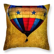 A Man And His Balloon Throw Pillow by Bob Orsillo