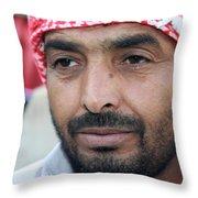 A Man From Jericho Throw Pillow