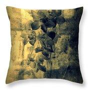 A Medley Of Orchids Throw Pillow