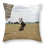 A Member Of The Pathfinder Platoon Throw Pillow