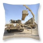 A Missile Reload Certification Throw Pillow