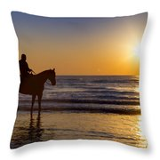 A Moment Of Silence Throw Pillow