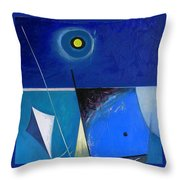 A Moon Story Throw Pillow