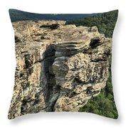 A Mountain Perspective Throw Pillow