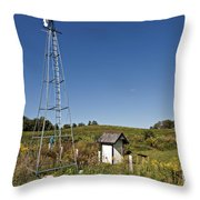 A Moving Memory Throw Pillow
