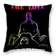 A New Lover In Town Throw Pillow