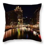 A Night On The Town Throw Pillow
