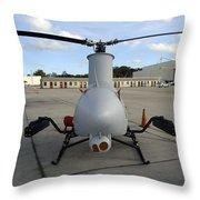 A Northrop Grumman Rq-8 Fire Scout Throw Pillow