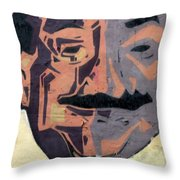 A Peeling Personality Throw Pillow