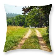 A Perfect Road Throw Pillow