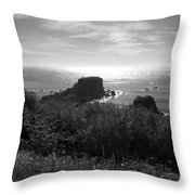 A Perfect View Of Sunlight Throw Pillow