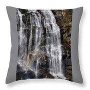 A Piece Of Whitewater Falls Throw Pillow