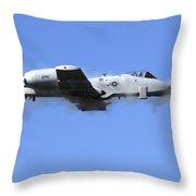 A Pilot In An A-10 Thunderbolt II Fires Throw Pillow