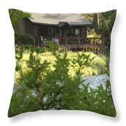 A Place Of Rest Throw Pillow