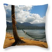 A Place To Hang Throw Pillow