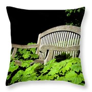 A Place To Rest Throw Pillow