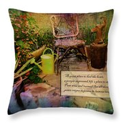 A Prayer Expressed Throw Pillow