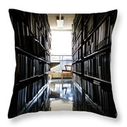 A Quiet Place To Work Throw Pillow