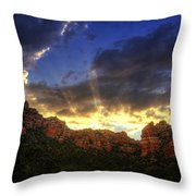 A Ray Of Sunshine  Throw Pillow