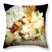 A Really Good Sandwich Throw Pillow
