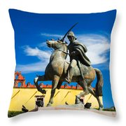 A Ride In The Clouds Throw Pillow