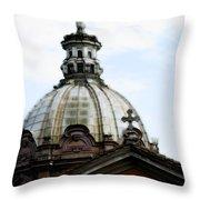 A Roman Church And Dome Throw Pillow