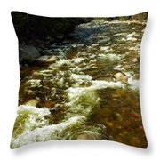 A Rush Throw Pillow
