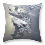 A Serene View Of A Portion Throw Pillow