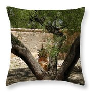 A Shady Rest Throw Pillow