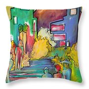 A Shared Story Throw Pillow