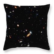 A Shot Of A Deep Space Photograph Throw Pillow