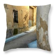 A Sidestreet In Provence Throw Pillow