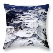 A Skiers Dream Throw Pillow